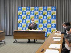 第25回岡山市新型コロナウイルス感染症対策本部会議